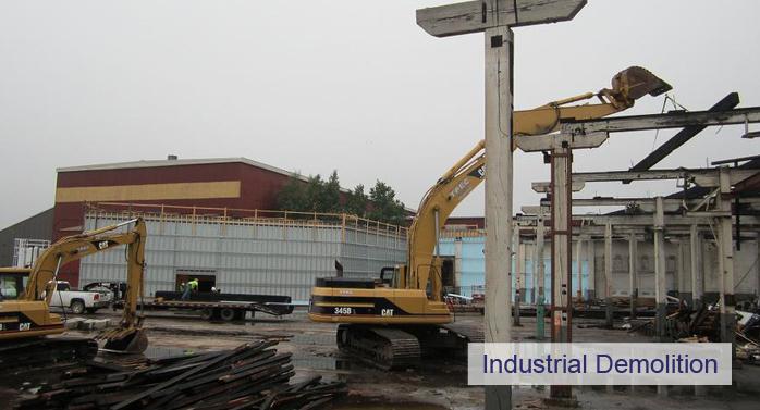 more industrial demolition