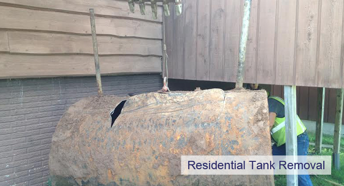 residential tank removal