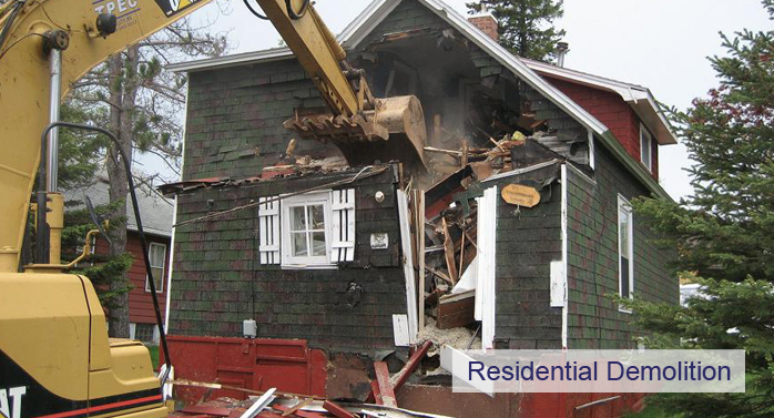 residential demo